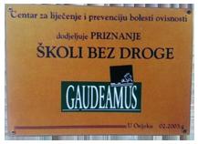 Škola bez droge