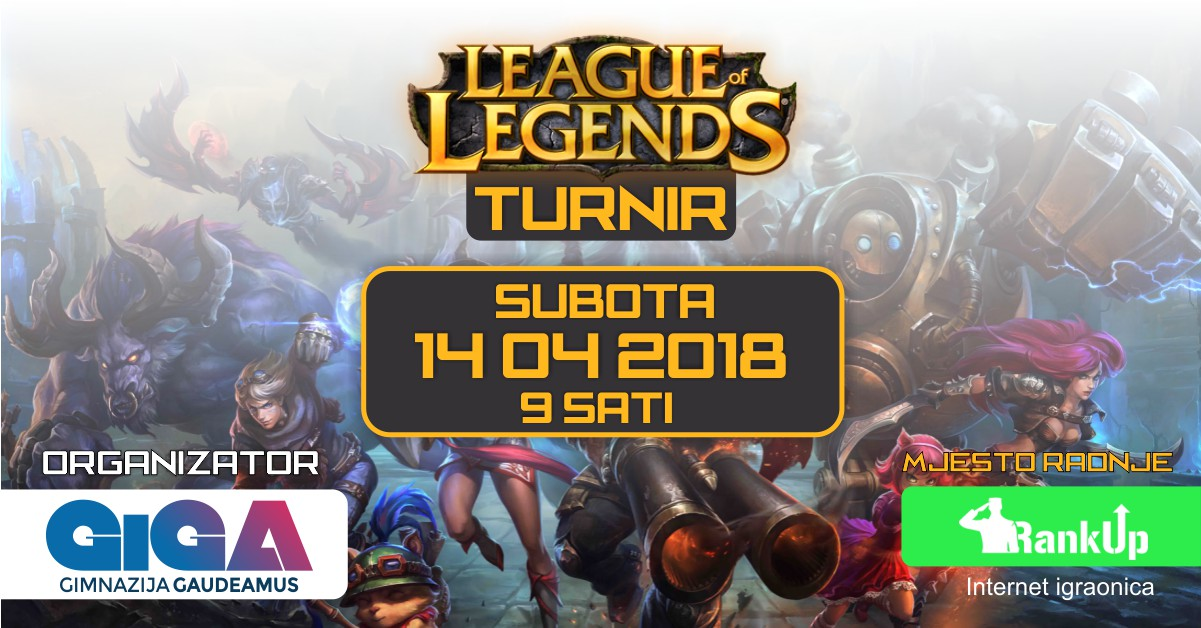 GiGA League of Legends Turnir