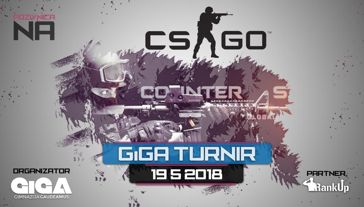 GiGA CSGO turnir najava